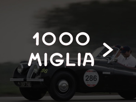 Jaguar at the Mille Miglia