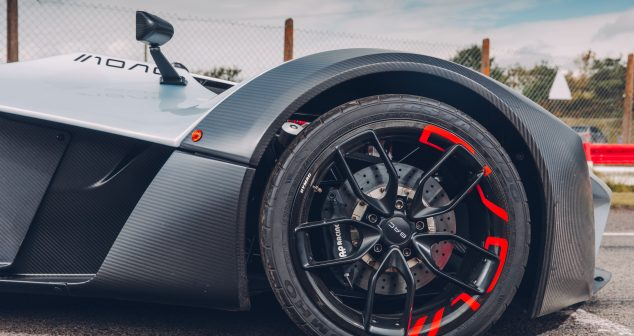 BAC Mono With Top Gear USA