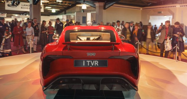 TVR To Show New Griffith At London Motor Show
