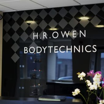 Automotive PR: H.R. Owen is celebrating its bodywork repairer and paint specialist Bodytechnics receiving official brand accreditation from Lamborghini