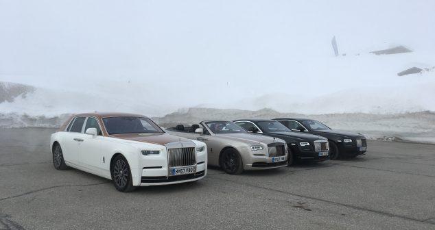 Rolls-Royce Luxury Winter Road Trip