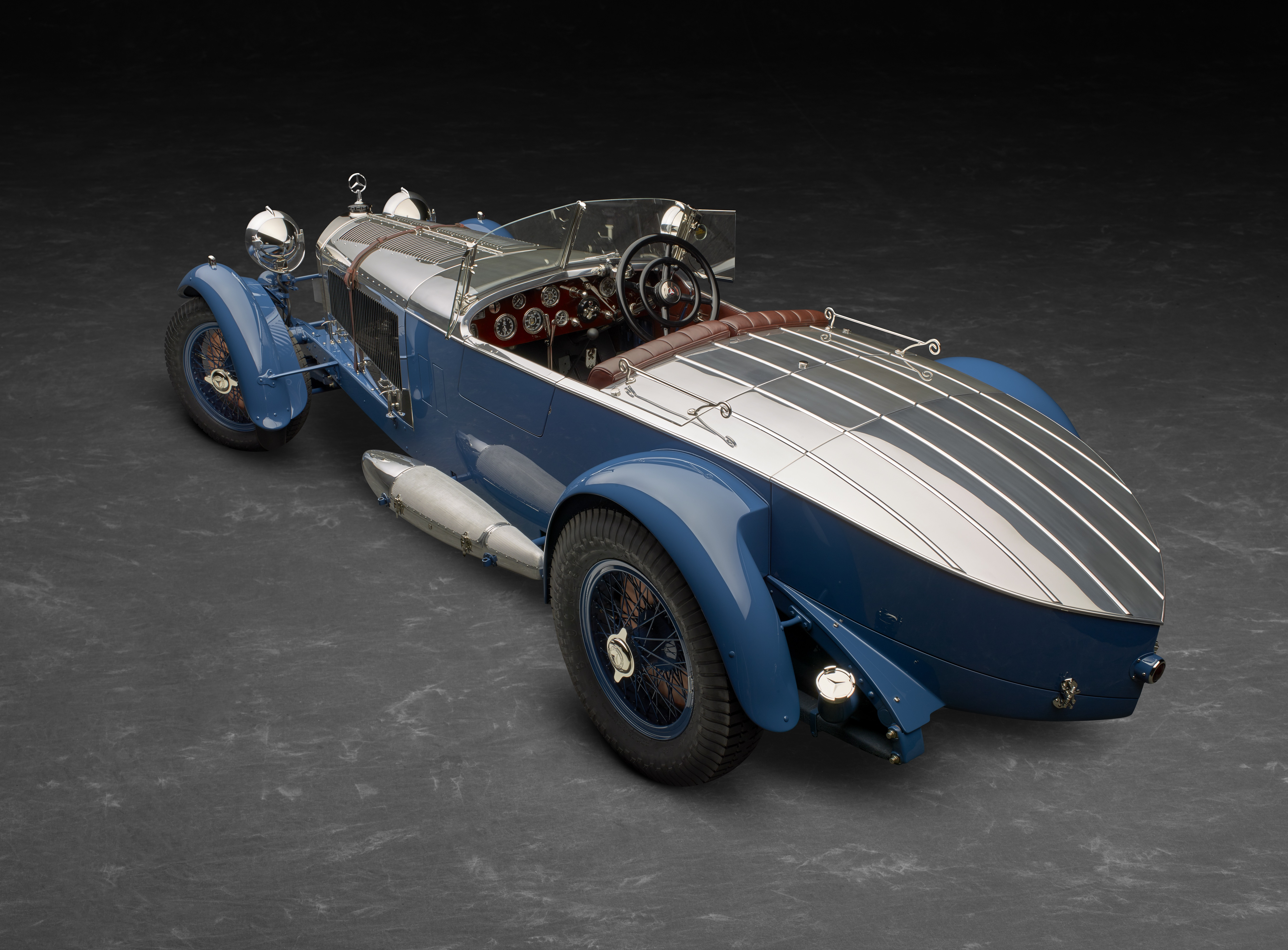Classic Car PR: The Pebble Beach Concours d'Elegance 'Best in Show' 1929 Mercedes-Benz S Barker 'Boat Tail' will feature at Concours of Elegance 2018