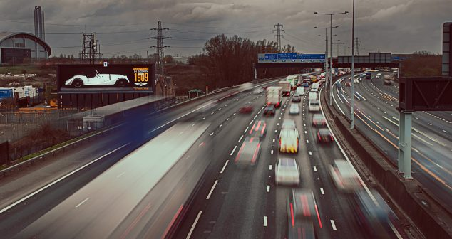 Morgan Unveils London Billboard Campaign