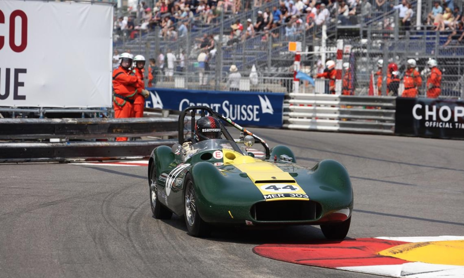 Classic Car PR: JD Classics achieved an astonishing one-two finish at Monaco Historique, marking the fourth consecutive win for the team in Monaco