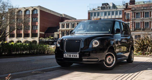 LEVC Electric Taxis Arrive In Edinburgh