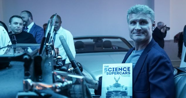 Coulthard Helps Launch Science Of Supercars