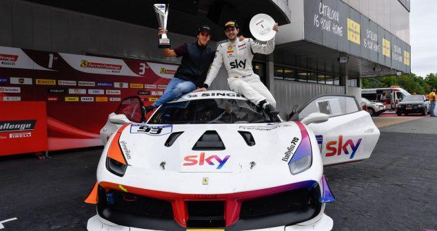 H.R. Owen's Chris Froggatt Wins Ferrari Challenge Title Barcelona