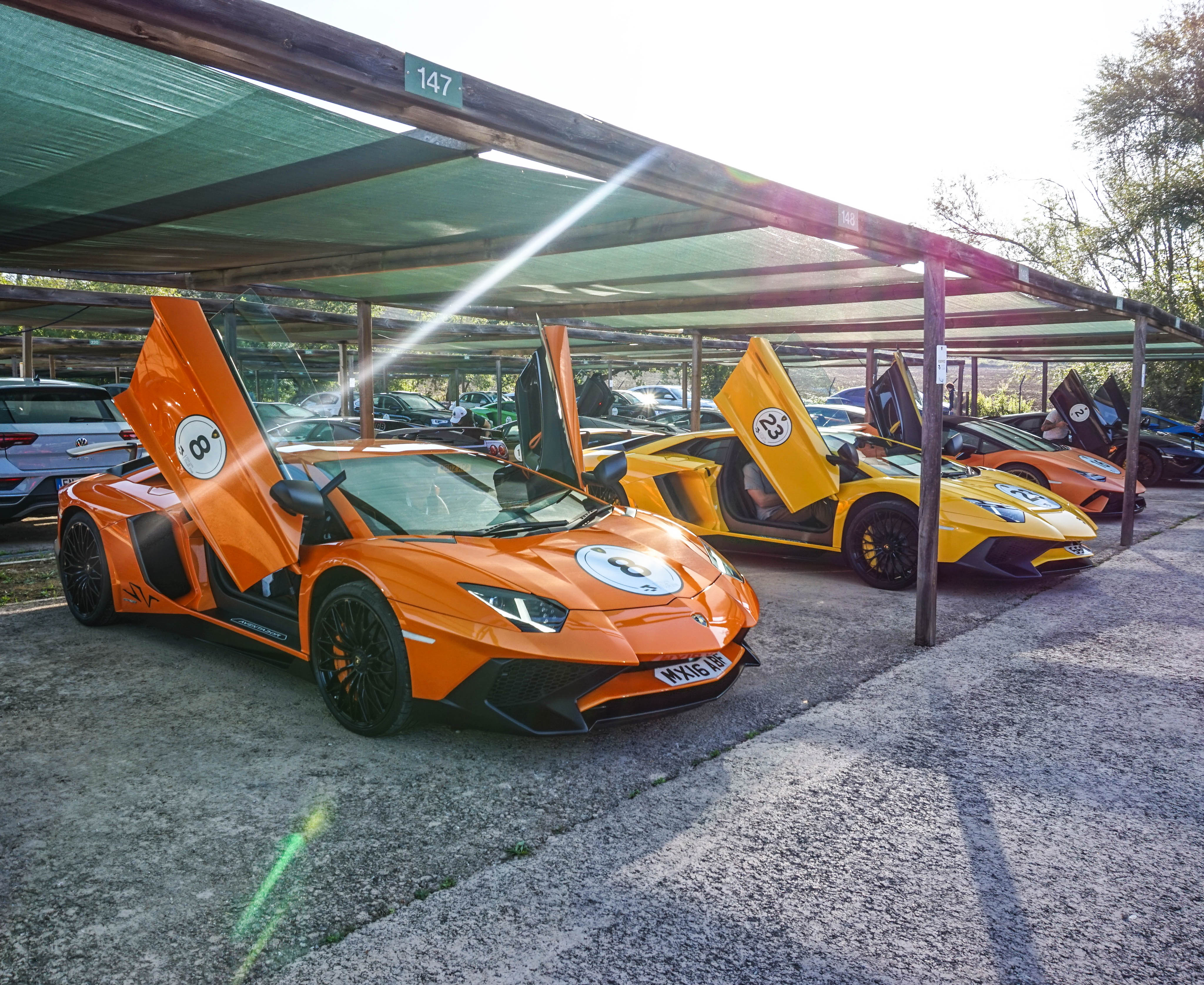H.R. Owen Lamborghini hosted a collection of customers for a tour of some of Italy's most breath-taking landscapes in celebration of all things Lamborghini