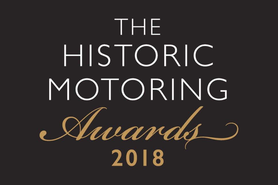 Concours of Elegance wins the 'Concours of the Year' award at The Historic Motoring Awards