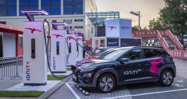 New High-Power Charger Introduced By IONITY