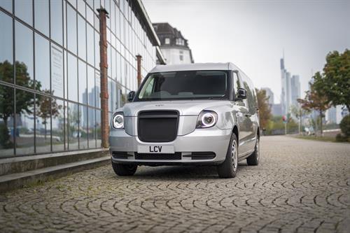 LCV Van Makes European Debut in Frankfurt