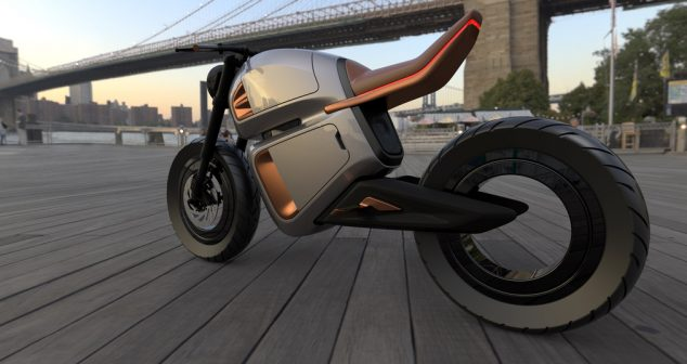 NAWA Technologies Unveils Hybrid Battery-Powered Electric Motorbike Concept Destined For CES 2020