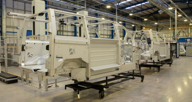 First Electric Van Prototypes in Build at LEVC