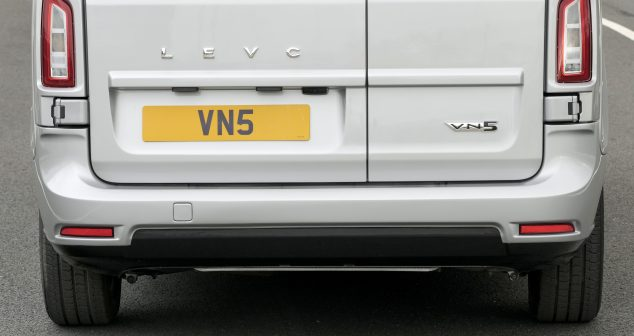 VN5: LEVC Reveals Name For New Electric Van