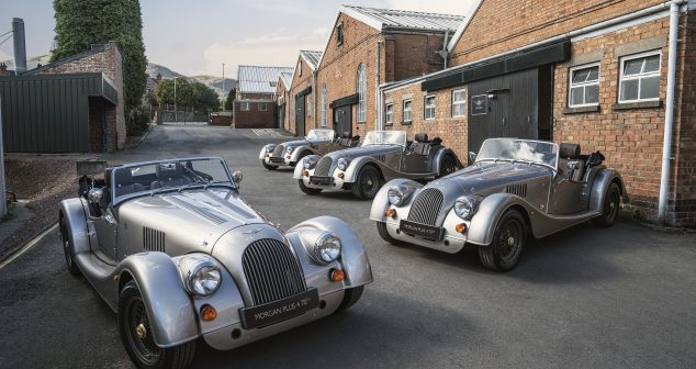 First limited-run Morgan Plus 4 70th Anniversary Edition models roll off the line at Pickersleigh Road